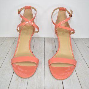 Michael Kors Women's Size 10 M Coral Pink Heels